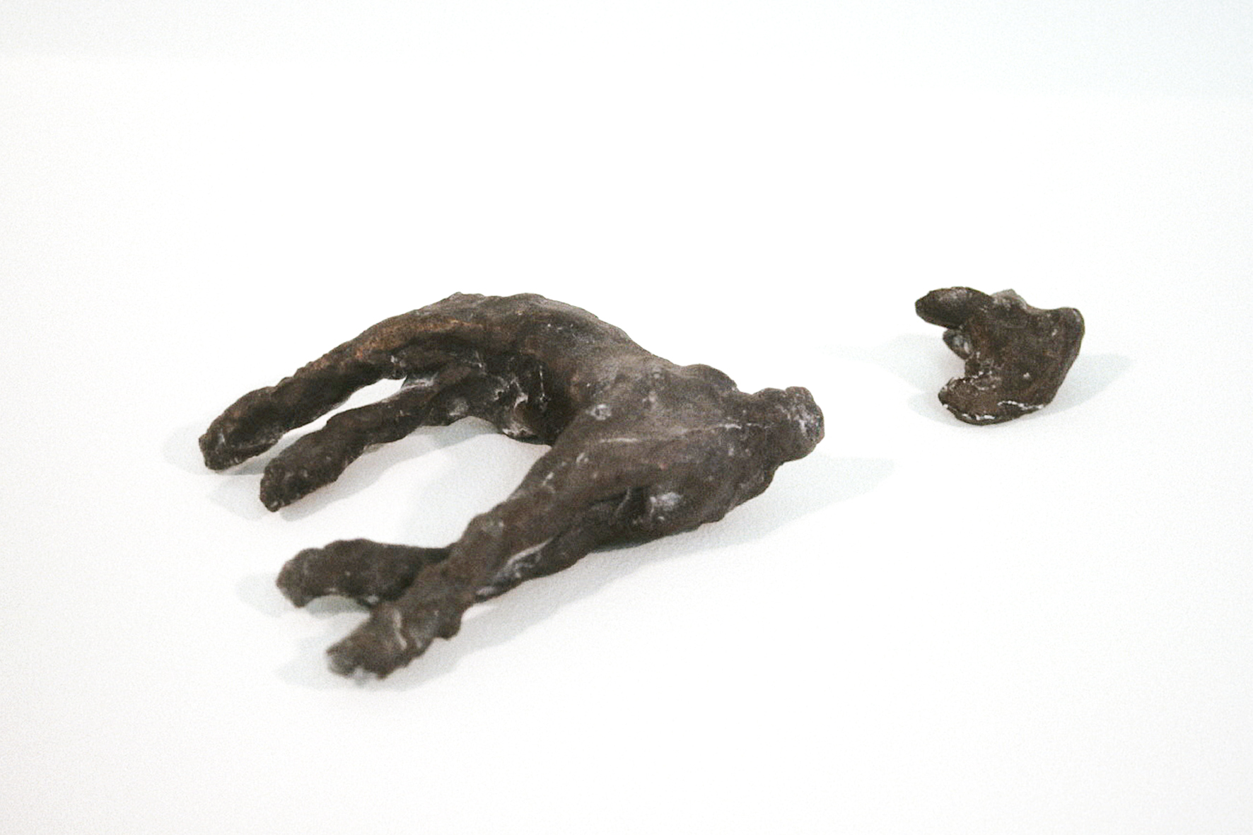 Bambi decapitated, bronze 1997
