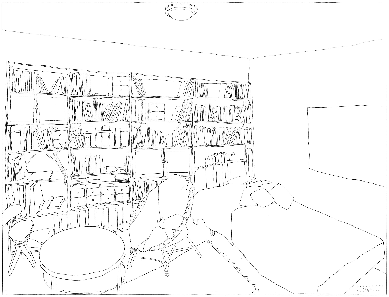 Room, 2006 120x150 cm